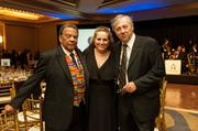 Former U.N. Ambassador and Atlanta Mayor Andrew Young; Maria Saporta, weekly contributor to the Atlanta Business Chronicle and founder of SaportaRepot.com; and Claude Wegscheider, former executive director of AFA.