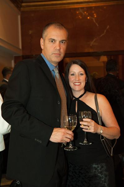 Mr. Larren, ODOM board member, and his wife, Mrs. Larren.