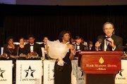Terri Vismale-Morris, vice president of AFA; Daniel Wolff, president of AFA.