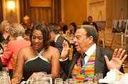 Karyn Greer, anchor at the 11Alive Morning News on WXIA-TV with former U.N. Ambassador Andrew Young.