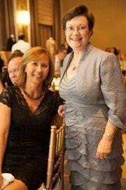 Beatrice Larang and Cynthia Briscoe Brown, board members of AFA.