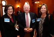 Rhonda Striplin, from left; George Pope and Ruth Bartlett, all with Frazier & Deeter LLC.