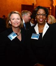 Nancy Rigby with PATH  Foundation, left, and Lisa Gordon with Atlanta Beltline Inc.