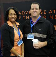 Lisa Graddy and Brad Reece with NCM media networks.