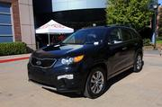 Kia Motors provided cars to test drive during the Business Growth