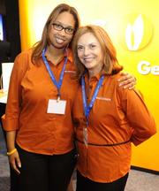 Bianca Williams and Ruth Ollins, both with Gas South.
