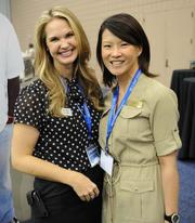 Carley Jacobs, with United Way Greater Atlanta, and Wendy Ho,