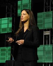 Kat Cole, president of Cinnabon Inc., was one of the speakers