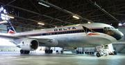 "The most massive item in the museum is this Boeing 767 jumbo jet, fondly named ""The Spirit of Delta."" In 1982, a tough year for Delta due to a weak economy and high fuel prices, Delta employees raised $30 million to buy the plane and then donated it to the company."