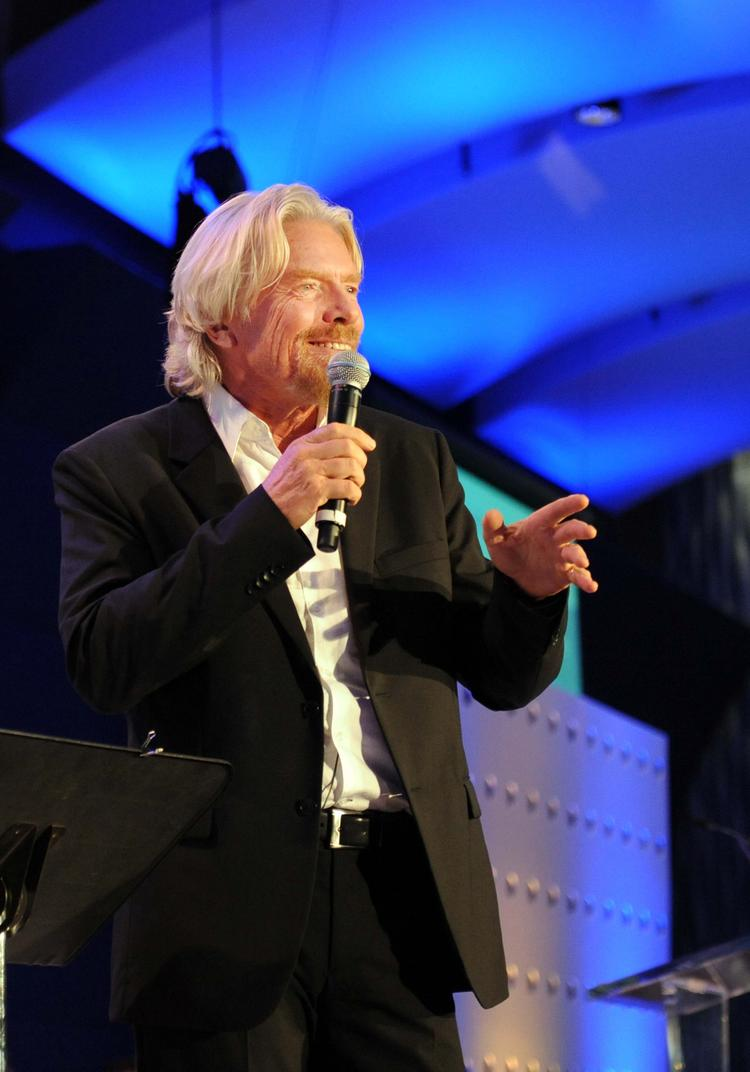 Virgin founder Richard Branson isn't impressed with Yahoo's move to ban  telecommuting, and highlighted his opinion in a blog post.