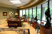 """Chick-fil-A's """"Home Office Backstage Tour"""" 2013:                 Truett Cathy's office."""