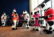 """Chick-fil-A's """"Home Office Backstage Tour"""" 2013:           The Chick-fil-A- cow drumline."""