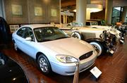 """Chick-fil-A's """"Home Office Backstage Tour"""" 2013:                  The last Ford Taurus off the Atlanta Ford assembly plant in Hapeville."""