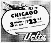 Another vintage Delta ad.