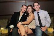 Adam Bazdydlo, Kaydee Mattingly and Matt Wessels.