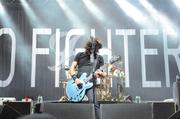 Foo Fighters closed Music Midtown's Friday schedule with a hard rocking two-hour set.