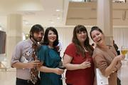 Kris Pilcher, Kelly Blackmon, Jamie Hopper and Megan Huntz.