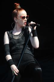 Garbage, led by sultry redheaded spitfire Shirley Manson.