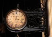 Many antique items will be sold, like this wonderful old Gillett & Company clock, made in London