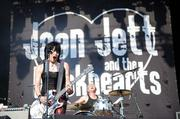 Joan Jett played an hour on Friday.