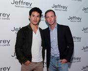 Joseph Altuzarra with Jeffrey Kalinsky.