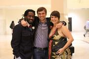 Carlton Mackey, Chris Appleton and Kari Mackey.