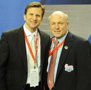 Trumpet player for the National Anthem with Dan Cathy, president and COO of Chick-fil-A.