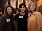 Helene Lollis with Pathbuilders, Joselyn Baker with Georgia Chamber and Carrie Kurlander with Southern Co.