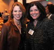 Stephanie Blank with Susan Bell with Ernst & Young.