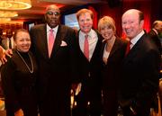 Beverly Tatum, president of Spelman Univeristy; the Rev. Gerald Durley; Rutherford and Laura Seydel; and John F. Brock, chairman and CEO of Coca-Cola Enterprises Inc.