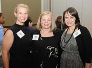 Carley Jacobs, Michelle Prater and Lauren Brooks of United Way.