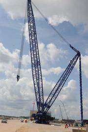 Plant Vogtle has the world's tallest crane at 560 feet. The crane has lifting capacity of 1,520 tons.