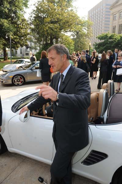 Detlev von Platen, president and CEO of Porsche Cars North America Inc.