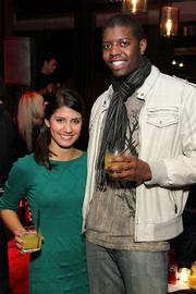 Kathryn David with Dayron Miles of Alliance Theatre.