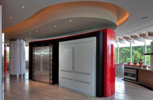 The 11,000-square-foot showroom was designed by Wisconsin's Zingg Design.