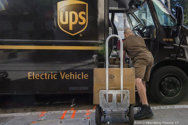UPS reported solid 3Q growth.