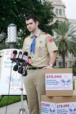 UPS cuts future funding to Boy Scouts over org's gay policies