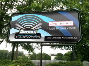 Aaron's Inc. inked a new three-year partnership with Live Nation to hold onto the naming rights to Aaron's Amphitheatre at Lakewood.
