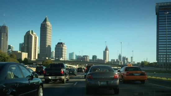Atlanta, where households spend 63 percent of their income on housing and transportation.