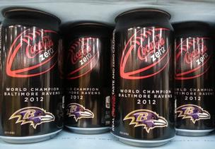 Coca-Cola issues special Baltimore Ravens can