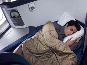 Delta Air Lines Inc.'s 16 Boeing 747-400s now all have full flat-bed seats in the BusinessElite cabin.