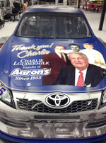 Slideshow: <strong>Charlie</strong> <strong>Loudermilk</strong> on Michael Waltrip's No. 55 Toyota