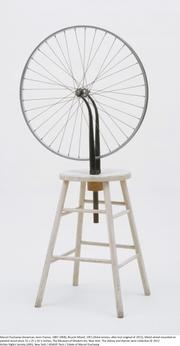 """Marcel Duchamp's """"Bicycle Wheel"""" from 1951."""