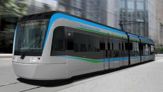 Atlanta Streetcar: The Streetcar is due to open in 2014.