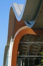 Atlanta architecture firm tvsdesign on Sunday marked the grand opening of Music City Center in Nashville, Tenn.