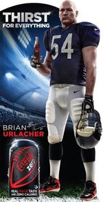 Urlacher, <strong>Sharp</strong> join Coke Zero sponsorship squad