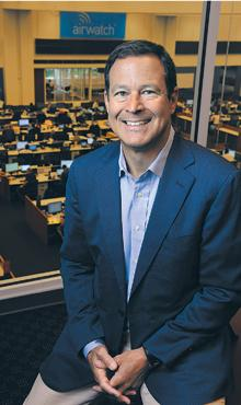 Gaining position: AirWatch Chairman Alan Dabbiere says an IPO would give the company first-mover advantage in a growing market.