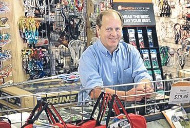 Bill Barney: The down economy has shifted sales for the owner of Play It Again Sports in Buckhead.