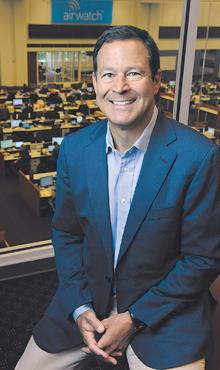New jobs in the air: AirWatch Chairman Alan Dabbiere said the company will add 700 new jobs, about 400 of them in metro Atlanta.
