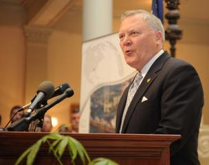 "Gov. Nathan Deal on Friday sent a letter to the Obama administration saying Georgia will not set up its own health-care exchange, due to ""Obama Care's one-size fits all approach and the high cost"" it puts on states."